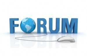 internet message board and forum