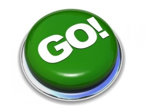 hit the go button, get started with your home business today