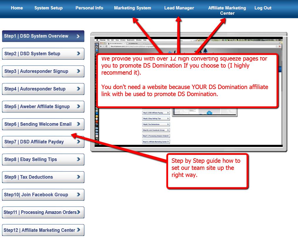 dsd marketing system